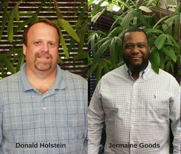 Reynolds Restoration Services promotes Donald Holstein and Jermaine Goods