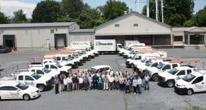 Reynolds Restoration Services employee group photo