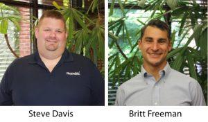 Reynolds Restoration Services Promotes Steve Davis and Brittan Freeman