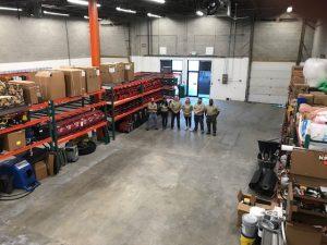 Reynolds Restoration Services' Elkridge Maryland office and warehouse address recently changed.