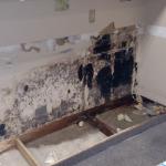 wall water damage