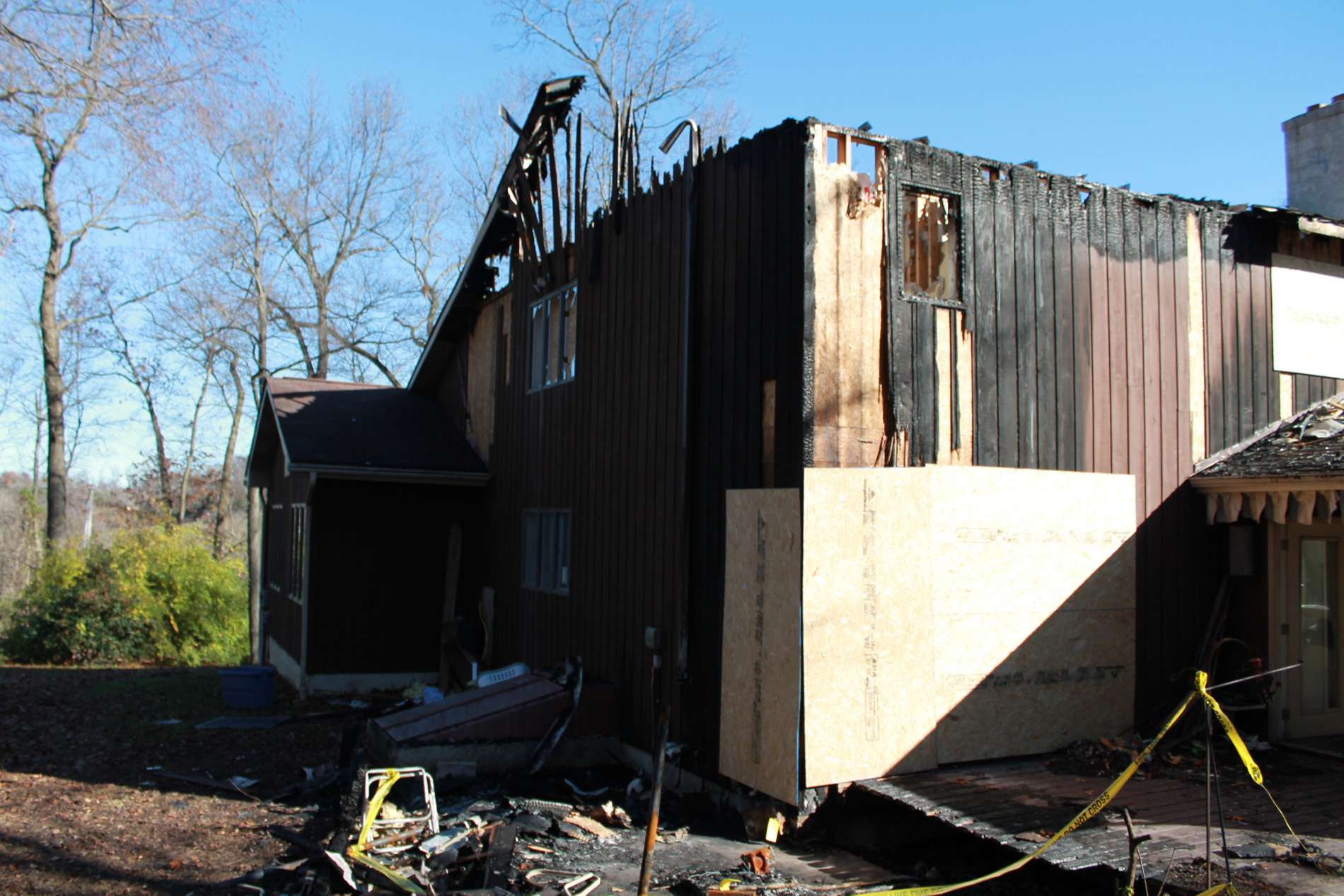residential fire restoration
