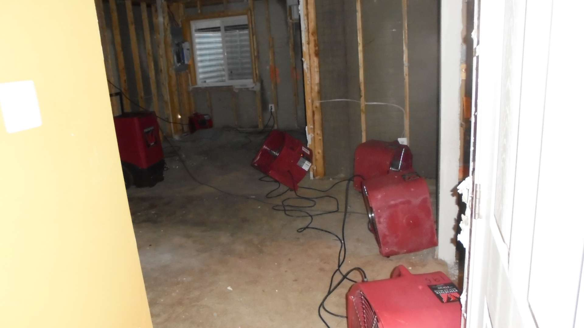 residential water restoration