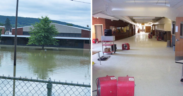 before after danville middle school