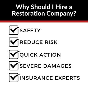 why should i hire a restoration company