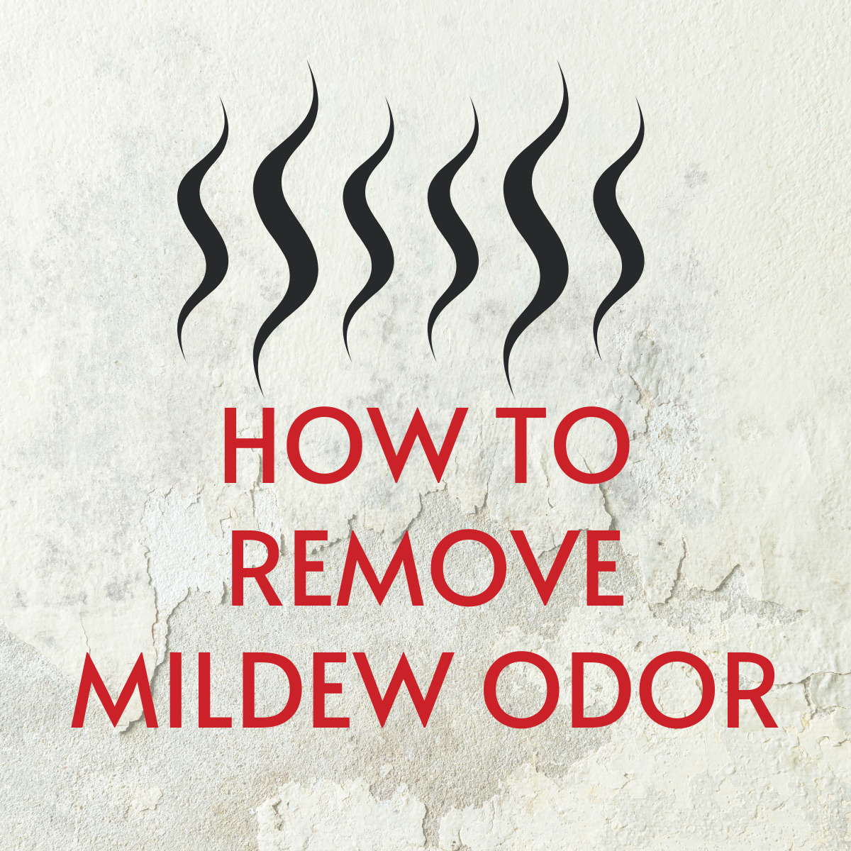 How to Remove Mildew Smell